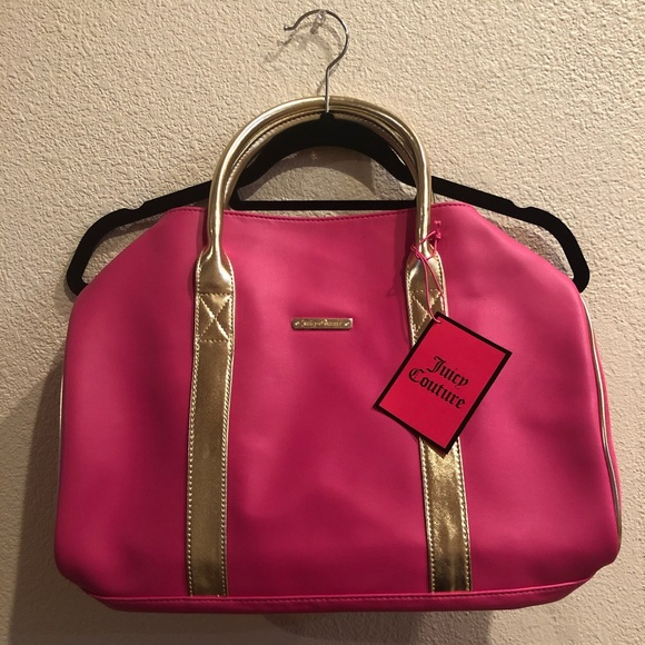 Juicy Couture Handbags - Juicy Couture Pink Tote
